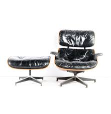 Herman Miller Leather Chair Vintage 1960s Herman Miller Eames Lounge Chair And Ottoman Ebth
