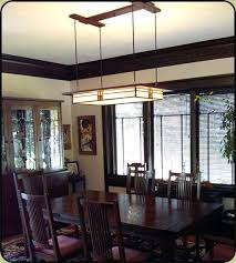 craftsman style chandeliers chandeliers design dining room mission