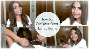 how to cut angled bob haircut myself how to cut your own hair at home a line bob bybelle4u youtube