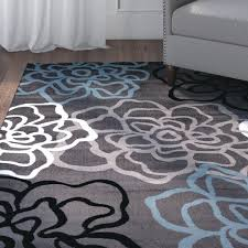 Gray Area Rug Glamorous Lovely Gray Area Rug 8 10 Rugs Carpet Solid Grey