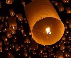 wholesale 500pcs crylindrical line chineses lantern sky lanterns