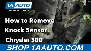 p0325 jeep grand how to replace install knock sensor 2006 chrysler 300 buy quality