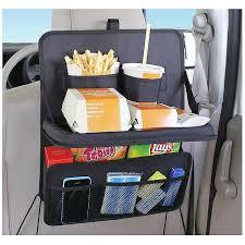 tablette pour siege auto organisateur plateau multi poches tablette banquette arrière voiture