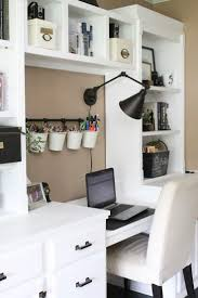 cozy home office shelving and storage delighful storage solutions