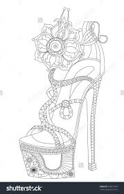 coloring pages of tennis shoes virtren com
