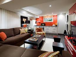 Apartments Cool Basement Apartment Ideas Finished Basements Add Space And Home Value Hgtv