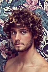 haircuts for curly hair 15 best men u0027s hair images on pinterest hairstyles long