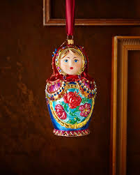 strongwater russian nesting doll ornament