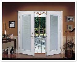 exterior french doors with built in screens cormansworld com