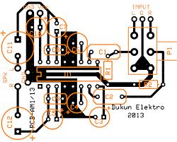 layout pcb inverter wiring machine tea2025b pcb layout