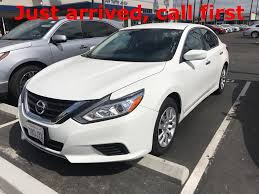 nissan altima 2016 orange 2016 nissan altima 2 5 sedan glacier white vin