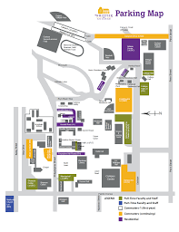 Fresno State Parking Map by Whittier College Map My Blog