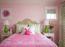 pink and green room apple green walls design ideas