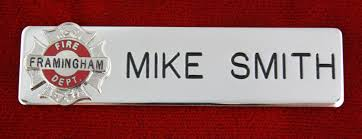 firefighter name bars collar pins insignia firefighter name bars