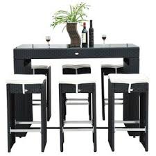 All Modern Outdoor Furniture by Modern Outdoor Bar Sets Allmodern