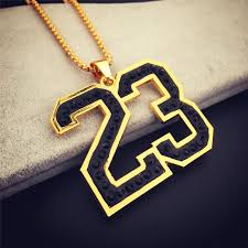 big necklace pendants images Jordan number 23 pendants gold necklace mens hip hop chains for jpg