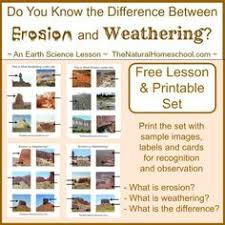 weathering and erosion worksheets weather and earth space