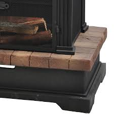 Sears Fireplace Screens by Garden Oasis 67336 Wood Burning Fireplace Limited