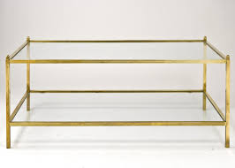 glass coffee table with glass shelf 2018 best of antique brass and glass coffee table