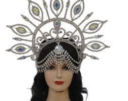 brazilian headdress etsy