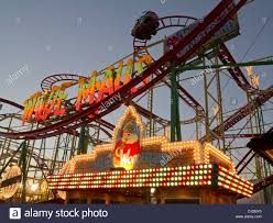 roller coaster at hyde park winter fair
