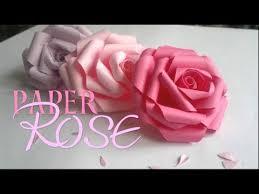 paper roses diy paper
