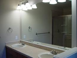 Large Rectangular Bathroom Mirrors Large Rectangular Frameless Bathroom Mirror Home Care Tc