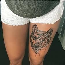 tattoo on thigh ideas thigh tattoo ideas chhory tattoo