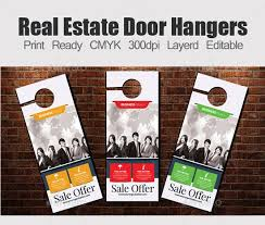 door hanger flyer template 15 best free door hanger templates design ideas
