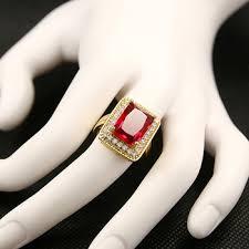 zirconia stone rings images Big cubic zirconia design 18k gold plated wedding engagement stone jpg