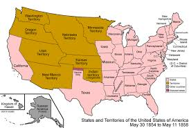 united states map with all the states and cities file united states 1854 1858 png wikimedia commons