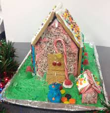 spring creek class hosts gingerbread house competition
