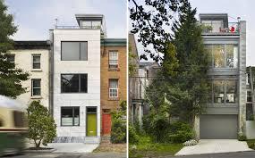 townhouse design modern townhouse design with rooftop garden by brett webber
