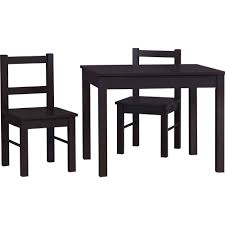 Altra Home Decor Ameriwood Home Hazel Kid U0027s Table And Chairs Set Espresso