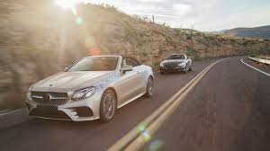 2018 mercedes e class cabriolet first ride making of a beauty
