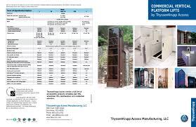 commercial vertical platform lifts thyssenkrupp access pdf