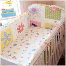 Baby Cot Bedding Sets Promotion 6pcs Crib Bedding Sets For Baby Cribs Bedding Sets