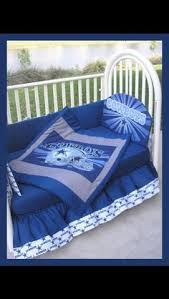 new umbrella crib mobile set made w dallas cowboys fabric