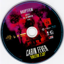 cabin fever blu ray label 2002 r2 german