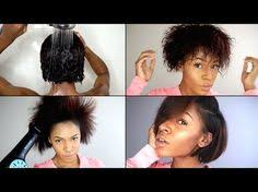 blow out hair styles for black women with hair jewerly wash blow out flat iron routine for natural hair video