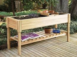 Planter With Legs by Raised Garden Planter Gardening Ideas