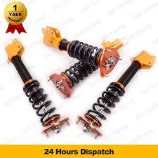 subaru gdf adj suspension spring coil strut coilovers fit subaru impreza wrx