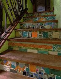 Tiles For Stairs Design 20 Unusual Interior Decorating Ideas For Wooden Stairs