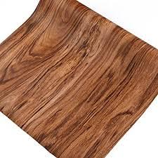 Kitchen Cabinet Liner Amazon Com Walnut Wood Grain Contact Paper Self Adhesive Shelf