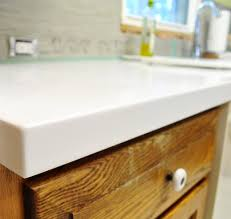 How To Install Corian Countertops Our White Corian Counters Are In And We Love Them Young House