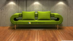 windows 8 3d couch hd desktop wallpaper high definition
