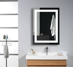 Bathroom Mirrors With Lights Attached Unique Bathroom Lighted Mirrors For Bathrooms Mirror At With