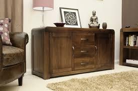 Shiro Solid Walnut Dark Wood Furniture Large Living Dining Room - Dark wood furniture