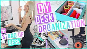 desk organization ideas to boost productivity diy stand up desk