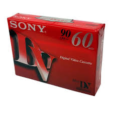 dv cassette cassette mini dv sony electronic corp